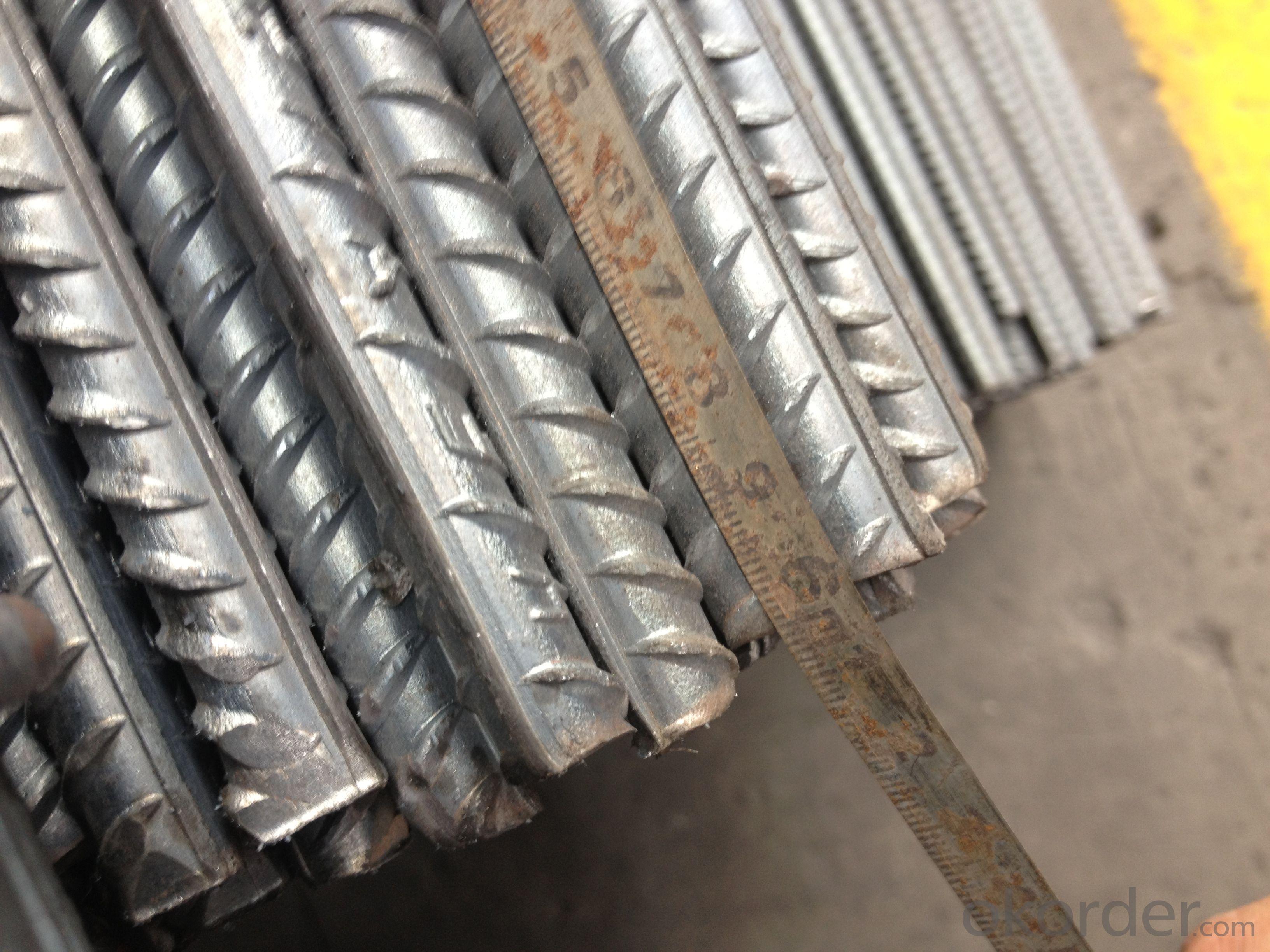 Steel Deformed Rebars ASTM GR40