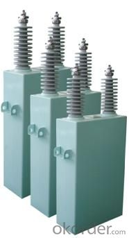 Alternating current filter capacitor