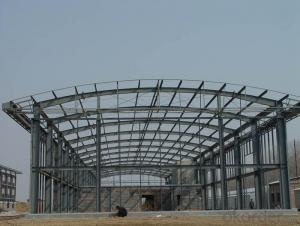 Prefabricated House of Quick Installation Large Span Stadium