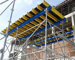 Table formwork system and scaffolding system