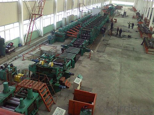 cold rollforming section mill