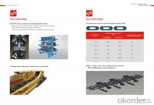 SANYI SCRAPER CONVEYOR SGZ800-1050