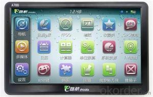 HD Touch Screen 7 inch Car GPS navigation