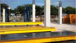 Adjustable H20 Timber Beam Formwork for Slant Concrete Column Formwork