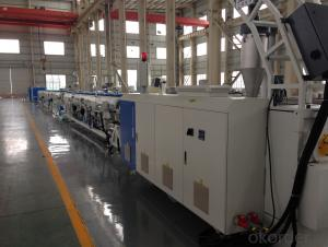 PE250 SOLID PIPE EXTRUSION LINE