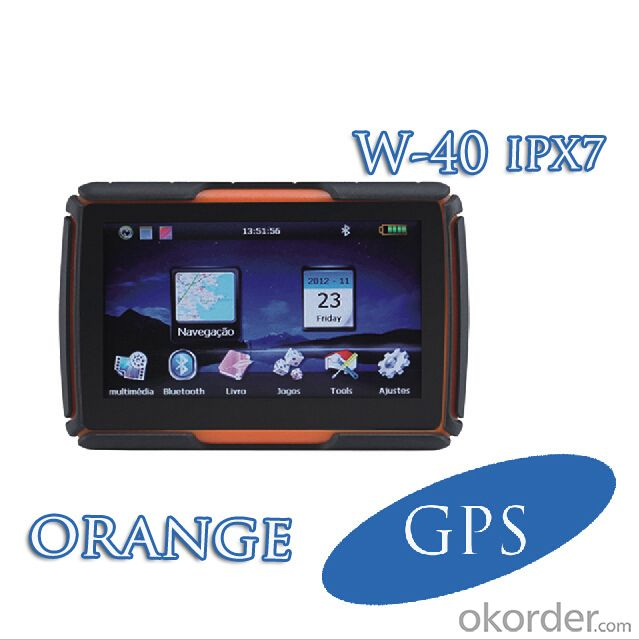 New 4.3 inch IPX7 waterproof for car or motocycle of GPS navigation