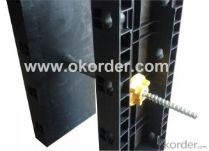 Environment Friendly Plastic Formwork - Column Formwork