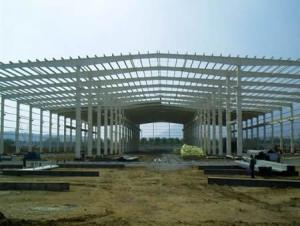 Permanent High Quality Heavy Steel Structure Worshop or Parking system