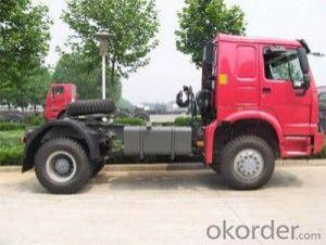 HOWO All Wheel Drive Truck 4X4 PINK
