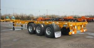 SINOTRUK SKELETON CONTAINER SEMI-TRAILER