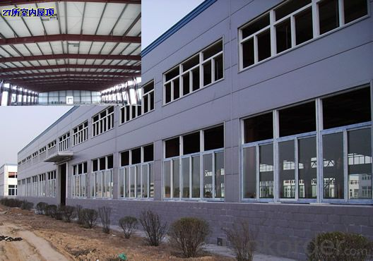 Energy Saving Prefabricated House of Heavy Steel Structure