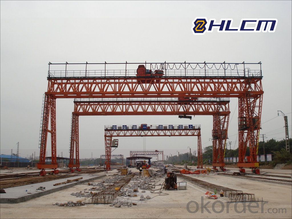 Precast Yard Gantry Crane 03
