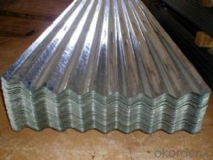 Corrguted Galvanized Steel Sheet