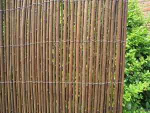 GARDENING WILLOW FENCE BACKYARD