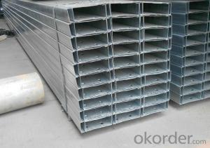 Cold-Rolled C Channel Steel with High Quality 220mm*60mm/70mm