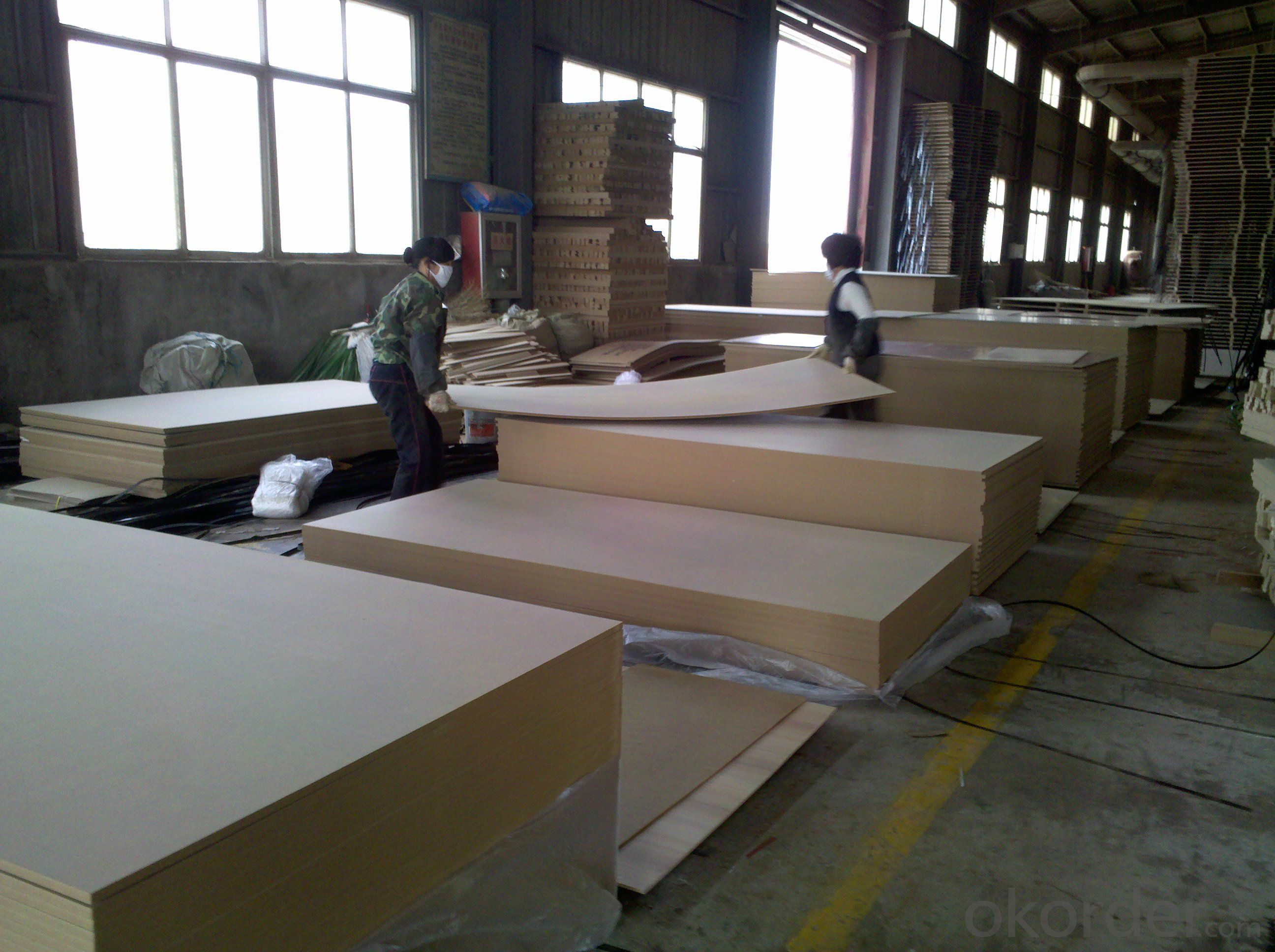 Plain MDF& HDF Board Light Color Good Lamination