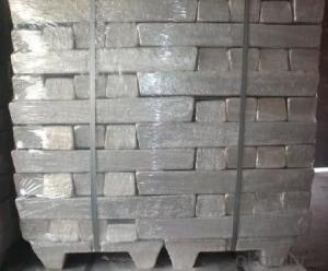 Magnesium Ingot-Mg99.90 1000kg For Each Pallet