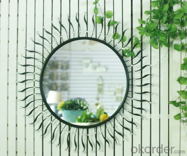 fancy adhesive decorative mirror