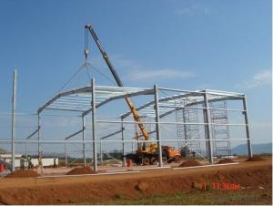 Quick Installation Factory and Large Span Building