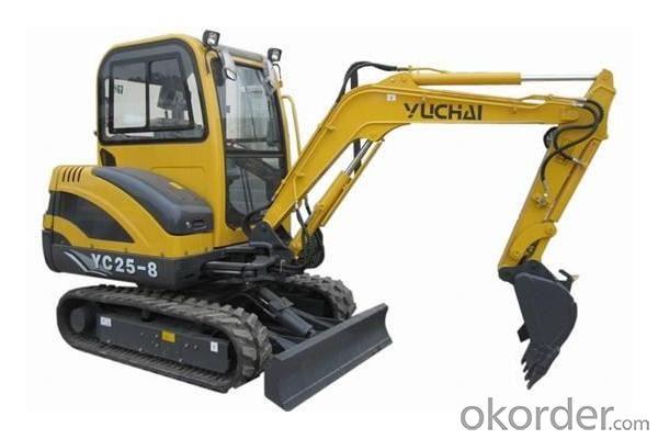 YC25-8 excavator
