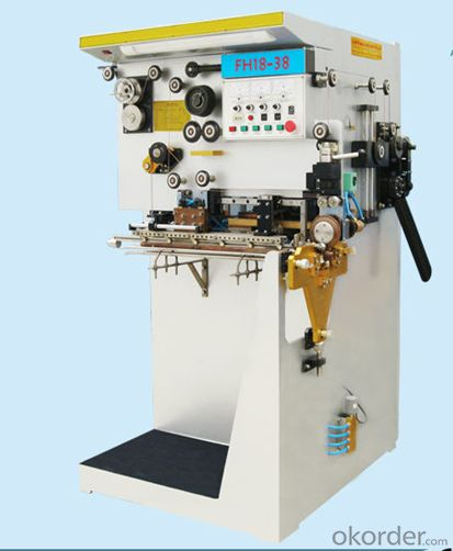 Auto welding machine for can
