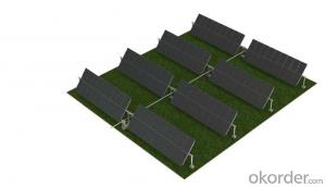 horizontal single axis tracking system Solar mounting system