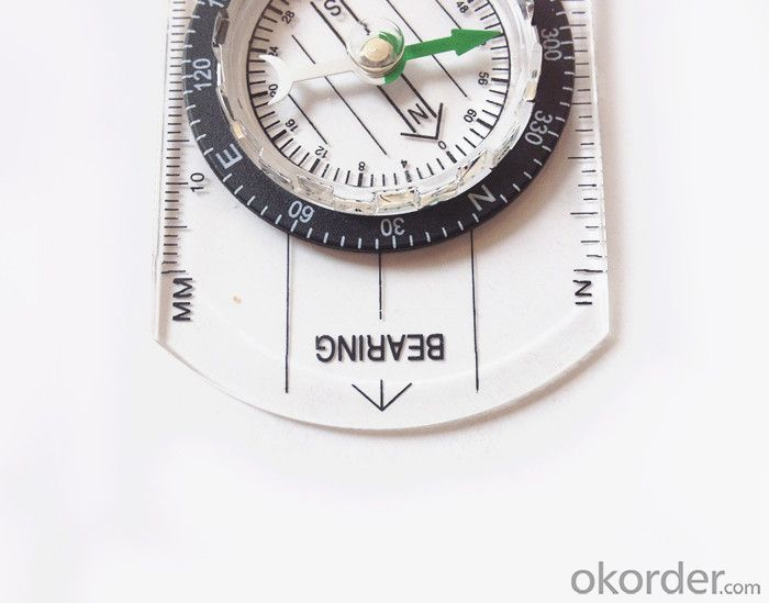 Transparant Map Compass DC35-B