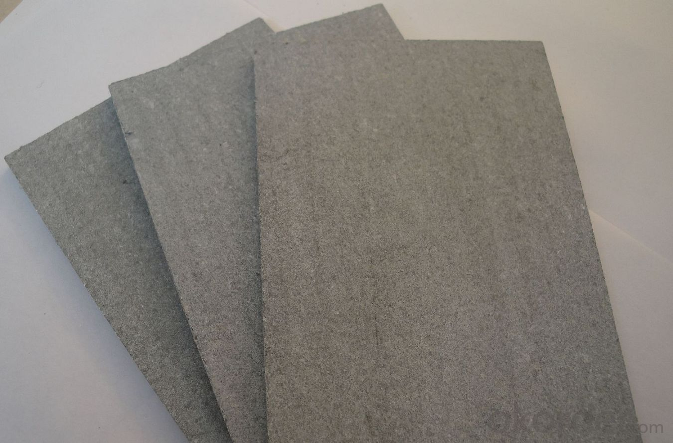 fiber cement board panels sheet for exterior cladding wall construction building material