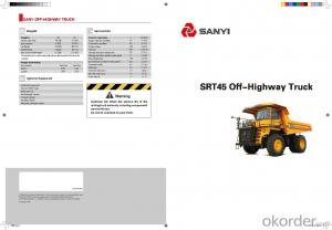 SANYI OFF-HIGHWAY TRUCK SRT45