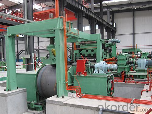 straight seam HF welded pipe mill