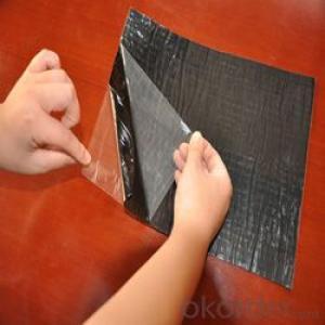 self adhesive asphalt bitumen waterproofing membrane,