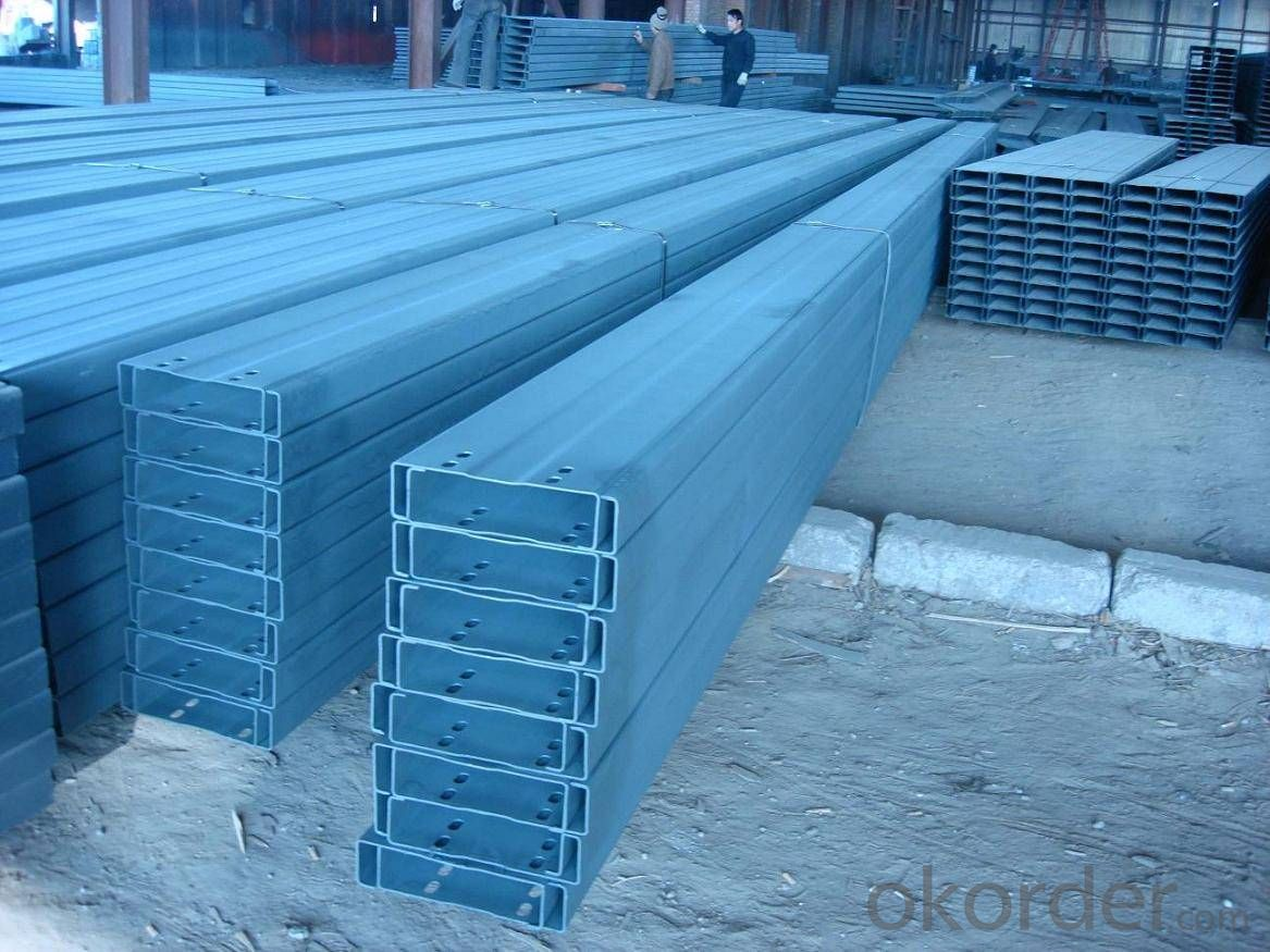 Cold-Rolled C Channel Steel with Good Quality 180mm*60mm/70mm