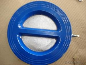 Double Disc Butterfly Type Check Valve