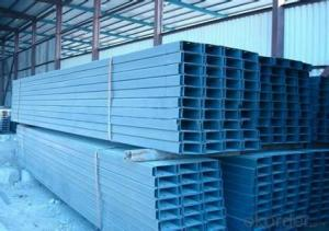Cold-Rolled C Channel Steel with High Quality 80mm/100mm/120mm