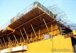 Bridge formwork system