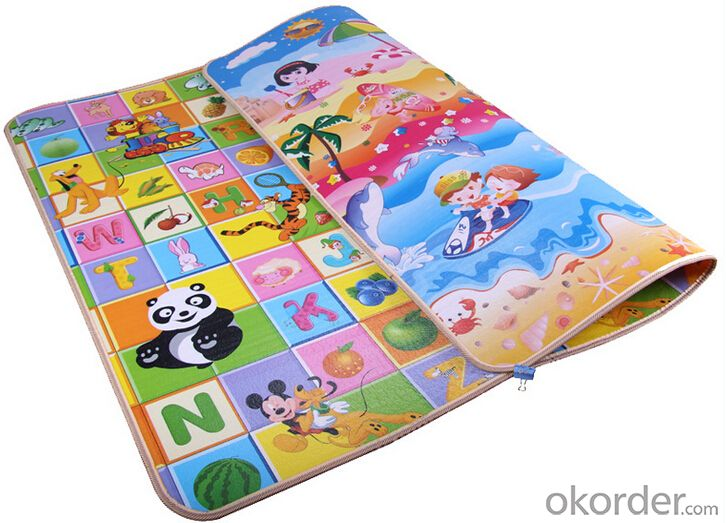 EPE,XPE 200x180x1cm double-sided baby foam rug