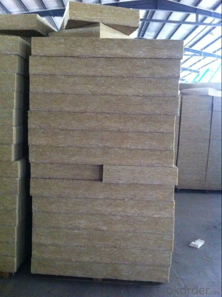 Rock Wool Board 140KG For Insulation Building Excellent Insulation Material