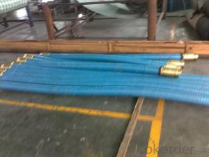 Concrete Pump Rubber End Hose DN100 with 7M