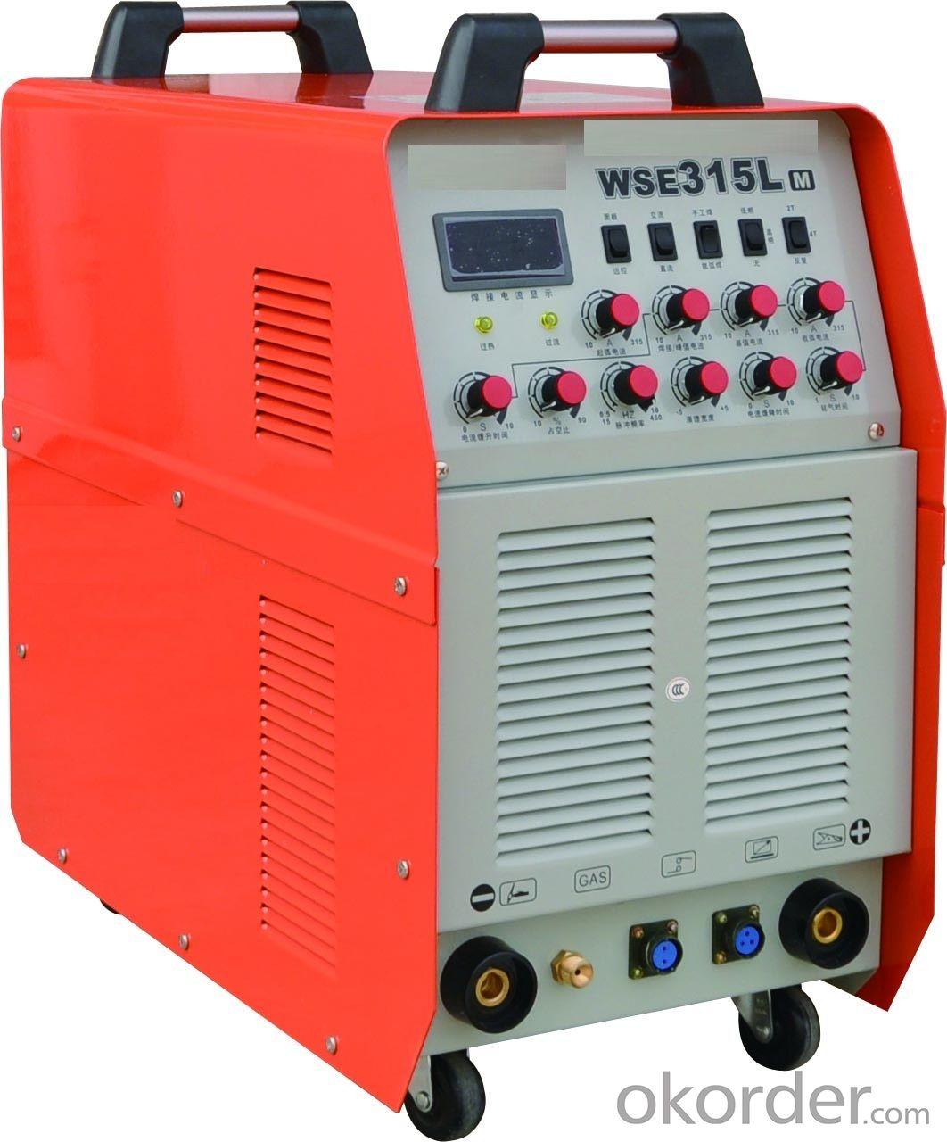 WSME-315A Inverter AC DC Pulse TIG Welding Machine