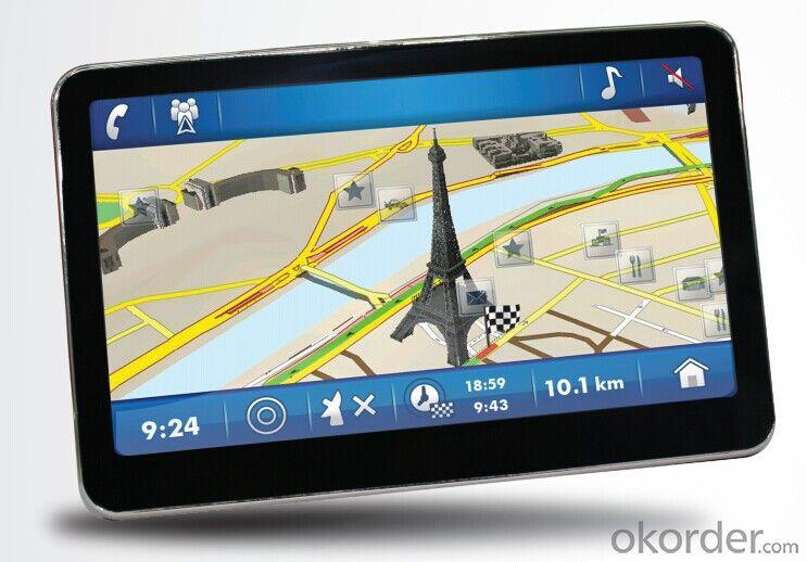 GPS Navigator 5 inch 800MHz support ISDB-T,AV-IN,BT,FM,TMC