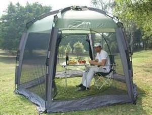 Textile   silk talking Tents