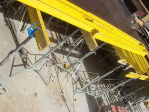 Timber Beam Table Formwork with Adjustable Prop System