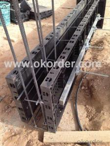 plastic reusable  formwork