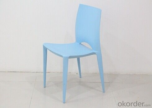 Blue Color Garden Plastic Chair
