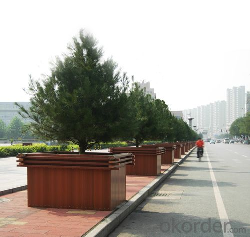 Good Quality Wood Plastic Composite Planter