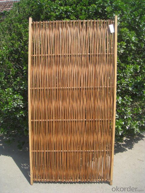 WICKER NATURAL SCREEN GARDEN DECORATING PANEL