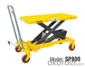 U.S. Type Manual Lift Table- SP800