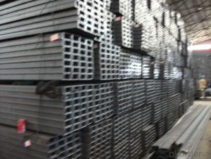 Hot  Rpled JIS Standard Steel U-channel SS400