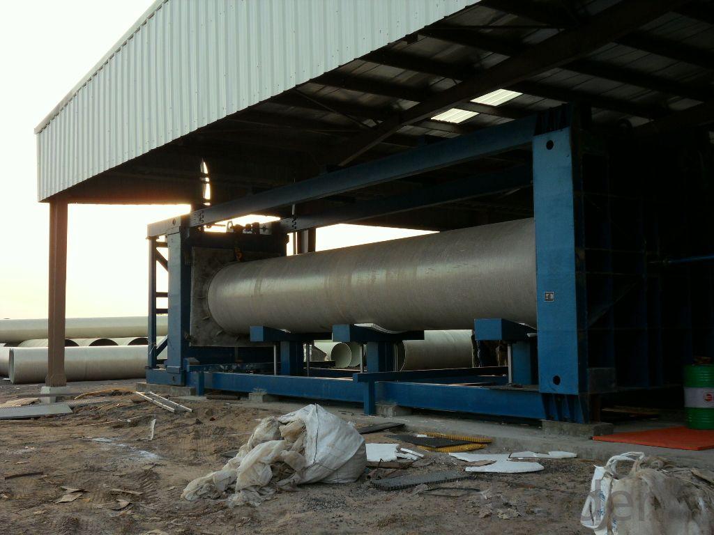 FIBER REINFORCE PLASTIC Pipe Hydrostatic Testing Machine