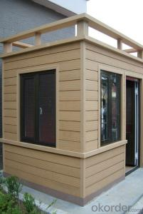 Good Quality Wood Plastic Composite House